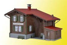 Kibri HO 39493 Bahnhof Davos-Monstein inkl. Hausbeleuchtung Bausatz Neuware