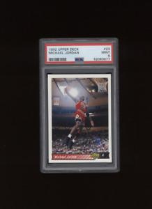 1992 Upper Deck #23  Michael Jordan  Chicago Bulls   PSA 9