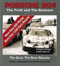2018 PORSCHE 904 - THE TRUTH AND THE RUMOURS - BOOK PHILIPPE OLCZYK MIKE MORRIS