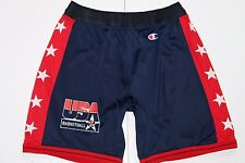 Vintage Champion Team USA Dream Team 1992 NBA Basketball Shorts, rétro, taille: large
