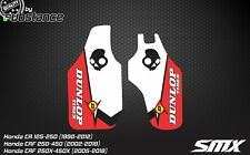 CRF CR fork guard stickers CRF 450 fork protector decals CRF 250 moto graphics