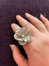 Large Flower Floral Statement Ring