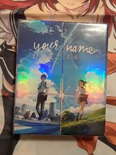 Your Name (Blu-ray/DVD,  2-Disc Set, Limited Edition) RARE OUT OF PRINT Anime