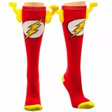 DC Comics The Flash Symbol Winged Knee-High Socks