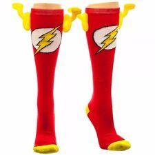DC Comics The Flash Symbol Winged Knee-High Socks