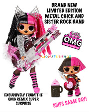 New ListingLol Surprise Exclusive Metal Chick & Sister Rock Band With Sealed Accessories