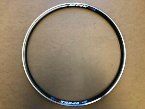 New KINLIN Rims XR-240 700C (622x14) 14G PV CSW Anodized Black