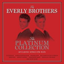 The Everly Brothers Platinum Collection 60 Classic Songs on 3 CD