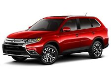 PAINTED BODY SIDE Moldings W/ CHROME Insert For: MITSUBISHI OUTLANDER 2013-2018
