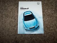 2005 Mazda6 User Guide Owner Manual i s Sport Touring Grand 2.3L 3.0L 4Cyl V6