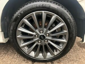 FORD FOCUS 2018 ST-LINE WHEEL + TYRE COMPLETE SET 215/50R17