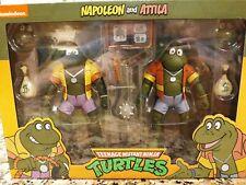 Neca Reel Toys Teenage Mutant Ninja Turtles TMNT Napoleon and Attila 2 Pack