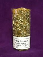 ☆ Tumba Trabajos - Hex Breaker ☆ Herbal Candle Ritualized! Natural Wax!