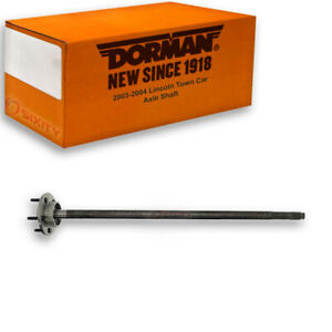 Dorman Rear Right Axle Shaft for 2003-2004 Lincoln Town Car Driveline Axles  wd