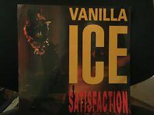 """VANILLA ICE SATISFACTION 12"""" LP 1991 SBK 12SBK 29 UK"""