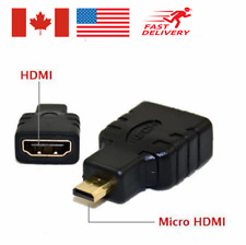 Micro HDMI Male to HDMI Female Video Cable Adapter Converter Connector