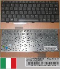 CLAVIER QWERTY ITALIEN ASUS EEEPC 700 701 900 901 V072462BK2 04GN022KIT30 Noir