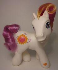 "MY LITTLE PONY G3 Sunny Daze I Rainbow Pony White Free US Ship 5""'03"