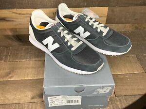 New Balance Men's Classics 220 Sneakers Shoes Black/Grey US Size 10.5 NEW