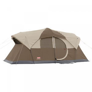 Coleman 10-Person Dome Tent Large Easy Setup Outdoor Camping Sleeping Unit New