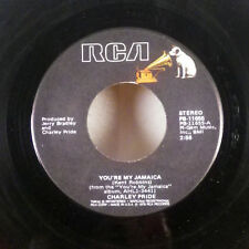 "Charlie Pride You're My Jamaica / Let Me Have a Chance to Love 7"" 45 RCA VG+"