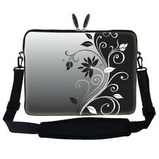 "17.3"" Laptop Computer Sleeve Case Bag w Hidden Handle & Shoulder Strap 2252"