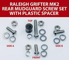 Raleigh Grifter Rear Mudguard Spacer Screw Washer Nut Set UK