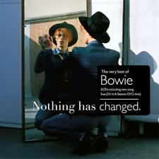 DAVID BOWIE NOTHING HAS CHANGED Very Best of REMASTERED 2 CD NEW