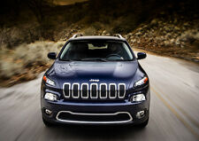 2014 JEEP CHEROKEE NEW A3 CANVAS GICLEE ART PRINT POSTER