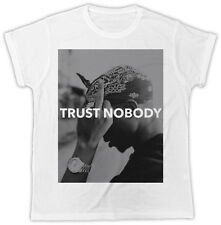 COOL TUPAC 2PAC TRUST NOBODY BIRTHDAY PRESENT IDEAL GIFT UNISEX MENS TSHIRT