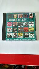 Zonophone The Punk Singles Collection CD (Anagram CD PUNK 97) EX
