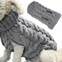 de perro Camiseta de perro Ropa de mascota Suéter de perro Chaleco de punto