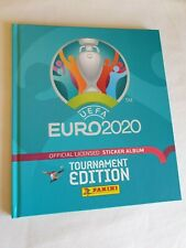 Panini - EURO 2020 UEFA TOURNAMENT- HARD COVER EMPTY ALBUM BELGIUM VERS.