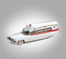 Voitures, camions et fourgons miniatures en métal blanc pour Cadillac 1:43