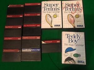 Sega Master Sytem Game Bundle