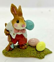 """Wee Forest Folk 1999 B-14 """"Busy Bunny"""" Signed """"AP"""""""