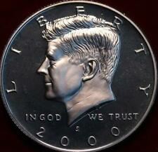 Uncirculated Proof Silver 2000-S San Francisco Mint Kennedy Half