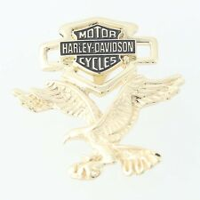 Harley-Davidson Eagle Pendant - 10k Yellow Gold American Motorcycles