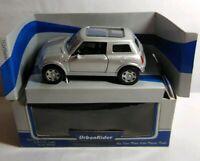 URBAN RIDER - DIECAST - MINI - SILVER - 89813 - BOXED