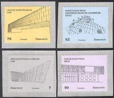 Austria 2011 ARCHITETTURA MODERNA/Edifici/architetti/design 4 V Set S/A (n42512)