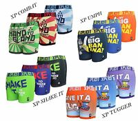 Mens Boys Xplicit Designer Rude Novelty Boxer Shorts Trunks Funny Gift Underwear