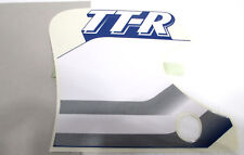 2000 Yamaha TTR90 Left Side Cover Graphic Decal Blue White 5HN-2173E-00 NOS