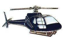Eurocopter AS350 Squirrel Helicopter Aircraft Metal Enamel Chopper Badge New