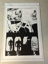 WEAPON X #21 original art PG 18,19 AGENT ZERO, MARROW, GENE NATION, FAREWELL!