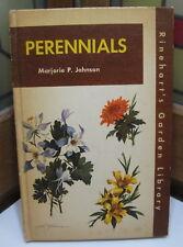 Perennials Rinehart's Garden Library 1955 Vintage Hardcover Book M. Johnson