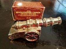 Vintage Avon Revolutionary Cannon After Shave (Blend 7) FULL BOTTLE W/Box 2 OZ