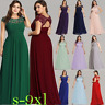 UK Ever-Pretty Lace Cap Sleeve Long Bridesmaid Dresses Evening Party Gowns 09993