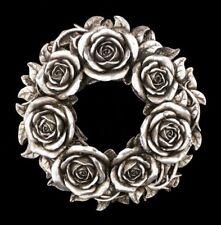 relieve de pared y candelero - Black Rose - ALCHEMY Decoración Mesa corona