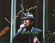 Leonard Cohen legendary artist reprint signed photo #1 RP Hallelujah