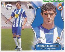 ROMAN MARTINEZ ARGENTINA RCD.ESPANYOL ULTIMOS STICKER LIGA ESTE 2009 PANINI